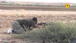 vuclip قوات حماية الشعب والجيش الحر يدا بيد في الدفاع عن كوباني