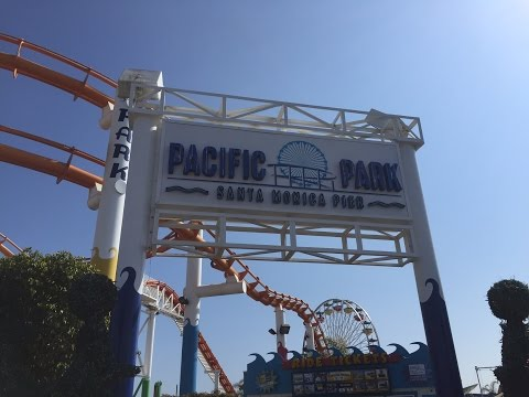 Pacific Park Santa Monica Pier Vlog 17th May 2016