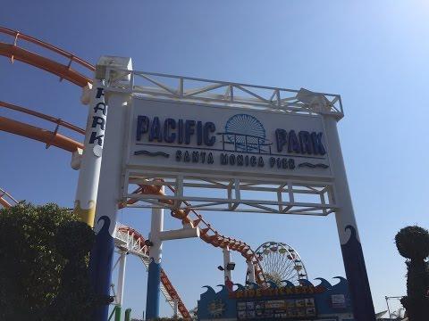 Pacific Park Santa Monica Pier 17th May 2016