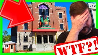 NOW IVE SEEN EVERYTHING! Playing Slot Machines In A CHURCH! Praying For BIG WINS W/ SDGuy1234