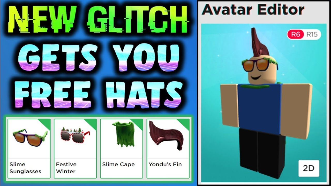 Omg This New Glitch Gives Free Hats Old Event Items For Free