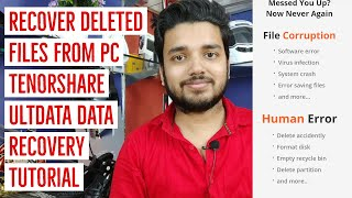 How to Recover Deleted Files I Tenorshare ultData - Data Recovery Software Tutorial