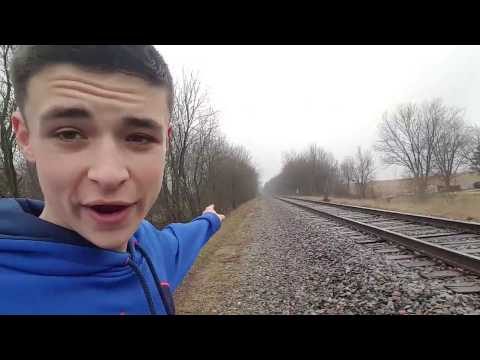 CHASED DOWN BY RAILROAD WORKERS (COPS CALLED)- Almost Died!!!