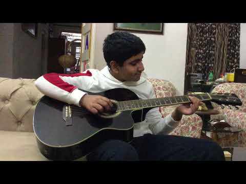 Sardi Ki Raat guitar cover by Hridayansh...