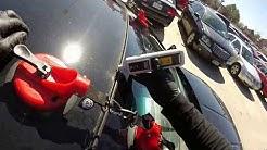 windshield replacement 2012 nissan sentra  (instalacion de parabrisas)