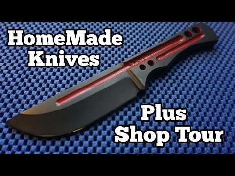 Homemade Knives - Knife Making Shop