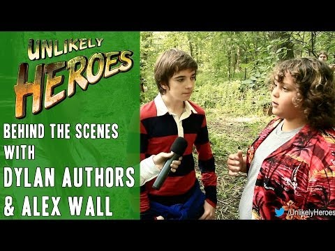 Behind The Scenes with Dylan Authors ('Wes') & Alex Wall ('Felix')