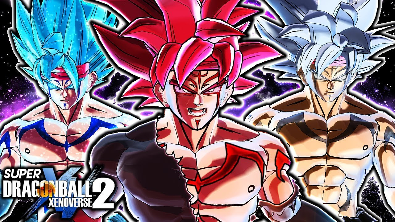 Bardock Roblox Outfit Codes New Curse Mark Bardock Design Gameplay Dragon Ball Xenoverse 2 Corrupted Bardock All Custom