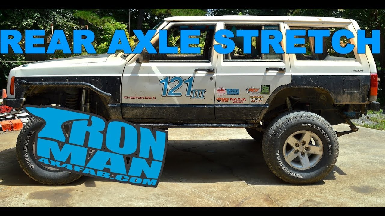 Ironman4x4fab Jeep Cherokee XJ Axle Stretch