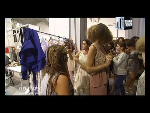 Backstage.Показ коллекции Елены Даць весна-лето 2013