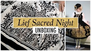 Lief Sacred Night    Lolita Unboxing    Inky Rose