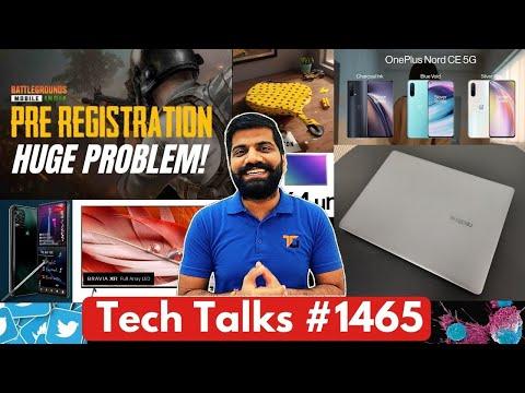 Tech Talks #1465 - BGMI Govt. Action Delay?, Realme Laptop Launch, Nord CE 5G Unboxing, Twitter Ban?