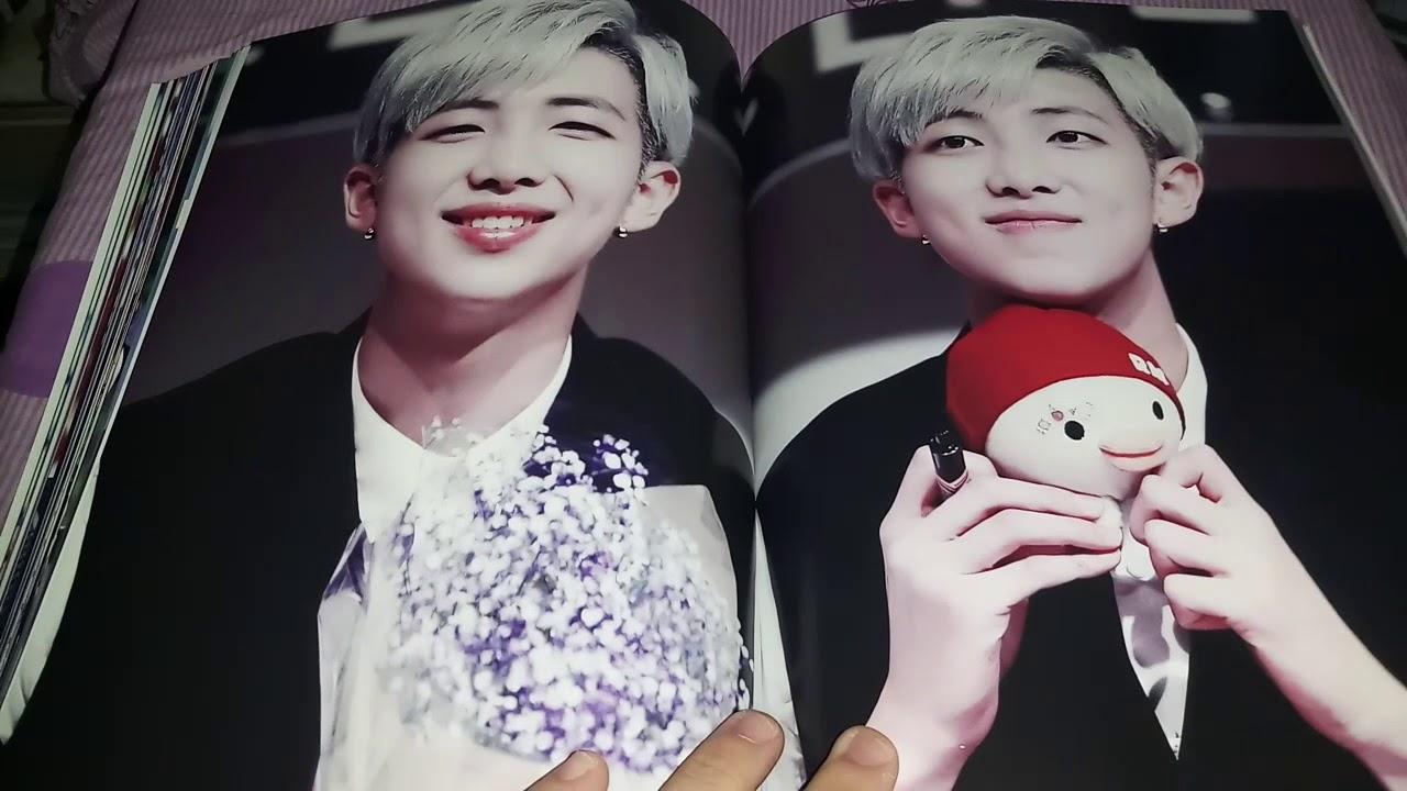 Entertainment Memorabilia Music Memorabilia BTS RM Fansite Goods