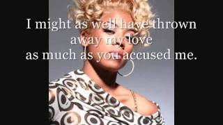Keyshia Cole- I Should Have Cheated (Lyrics on Screen)