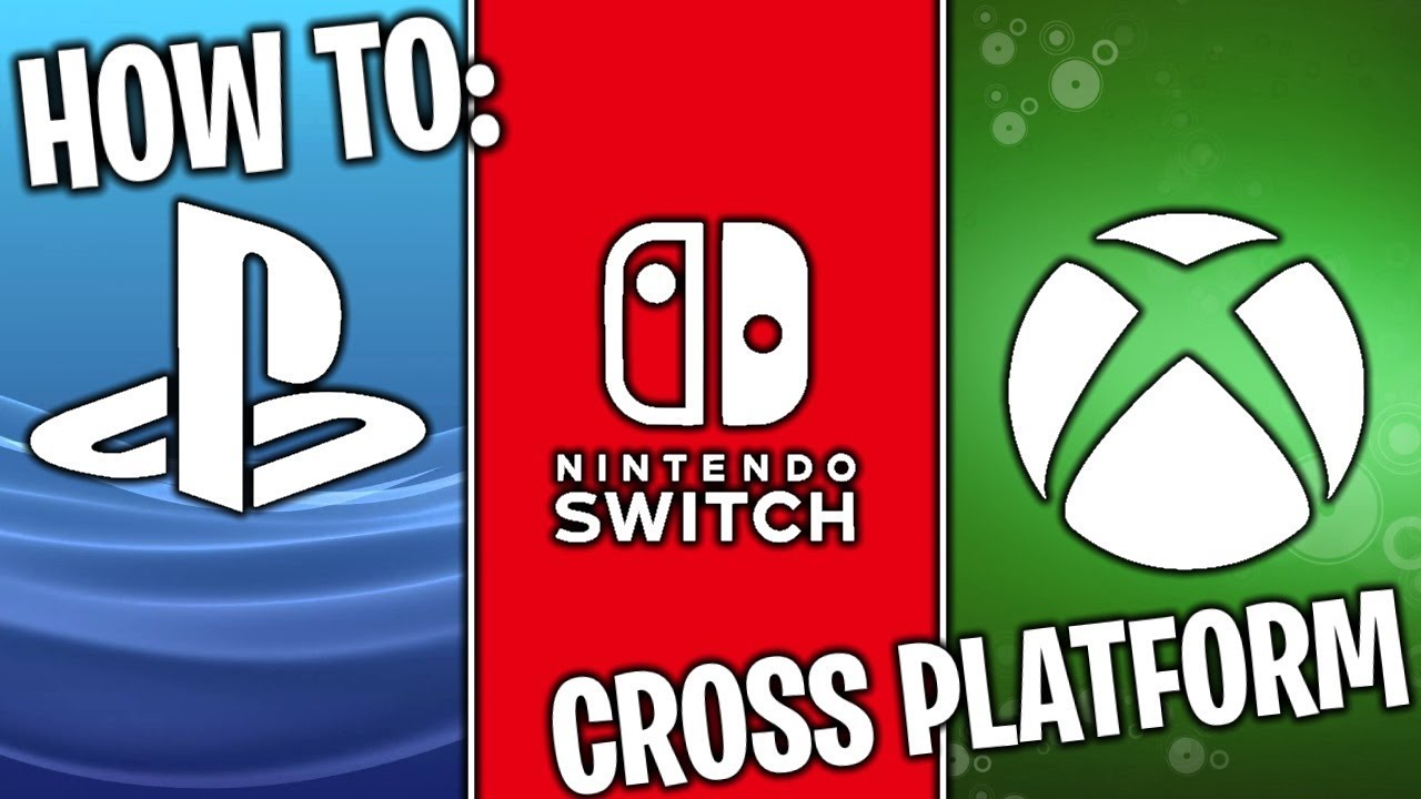 how to link fortnite accounts for cross platform xbox one ps4 and switch - cross platform fortnite switch