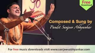 Pandit Sanjeev Abhyankar- Classical - Raag Chandrakauns-Part 2- Tarana