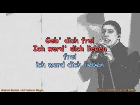 Andreas Bourani  Auf anderen Wegen  with Voice and Lyrics  Karaoke by Rolf Rattay