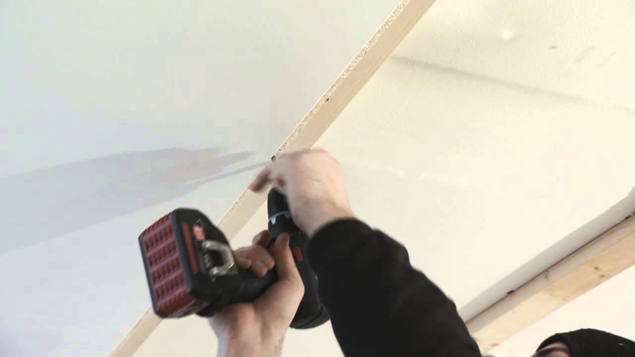 Montera ett innertak - Hur monterar man ett innertak? – Byggelit ...