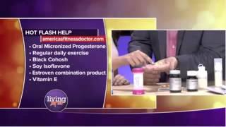 Relief Flashes Menopause Hormone Deficiencies