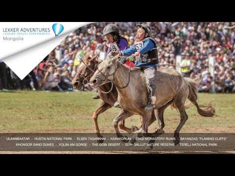 Explore fascinating Mongolia