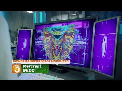 Canal J - Power Rangers Beast Morphers Promo (France)