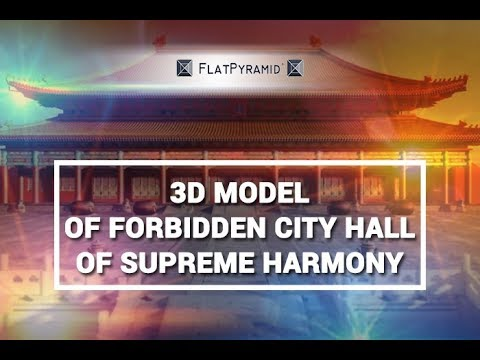 3D Model of Forbidden City Hall Of Supreme Harmony