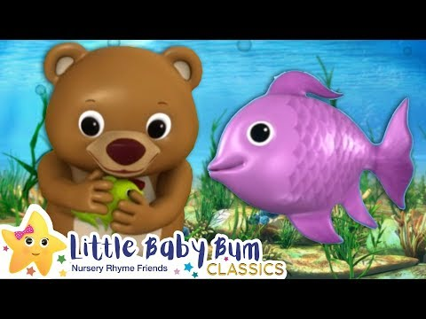 1 2 3 4 5 Once I Caught A Fish Alive Song + More Nursery Rhymes & Kids Songs - Little Baby Bum