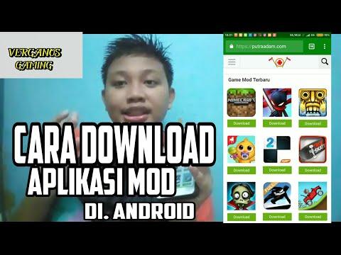 Cara Downlod Aplikasi Game Mod Cheat Android