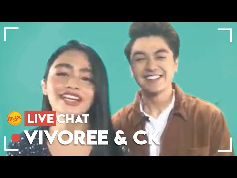 CK and Vivoree on MYX Live Chat