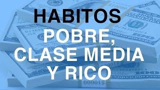Hábitos de Pobres, Clase Media y Ricos