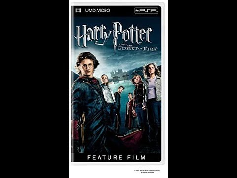 Opening Closing To Harry Potter And The Goblet Of Fire 2005 Umd Video For Psp Youtube