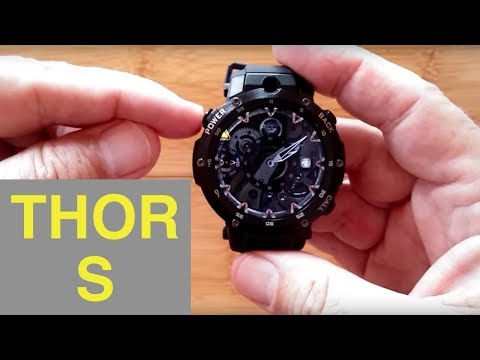 Zeblaze THOR S 1GBRAM/16GBROM Android 5.1 Front Camera Smartwatch: Unboxing and 1st Look
