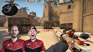 FaZe Teeqo CS:GO w/ OLOFMEISTER *38 KILLS* FACEIT GAME