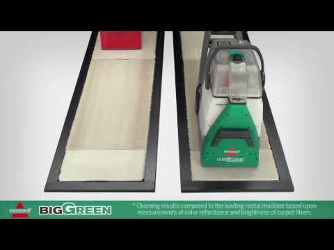 This vs That Bissell BigGreen Commercial BG10 Extractor