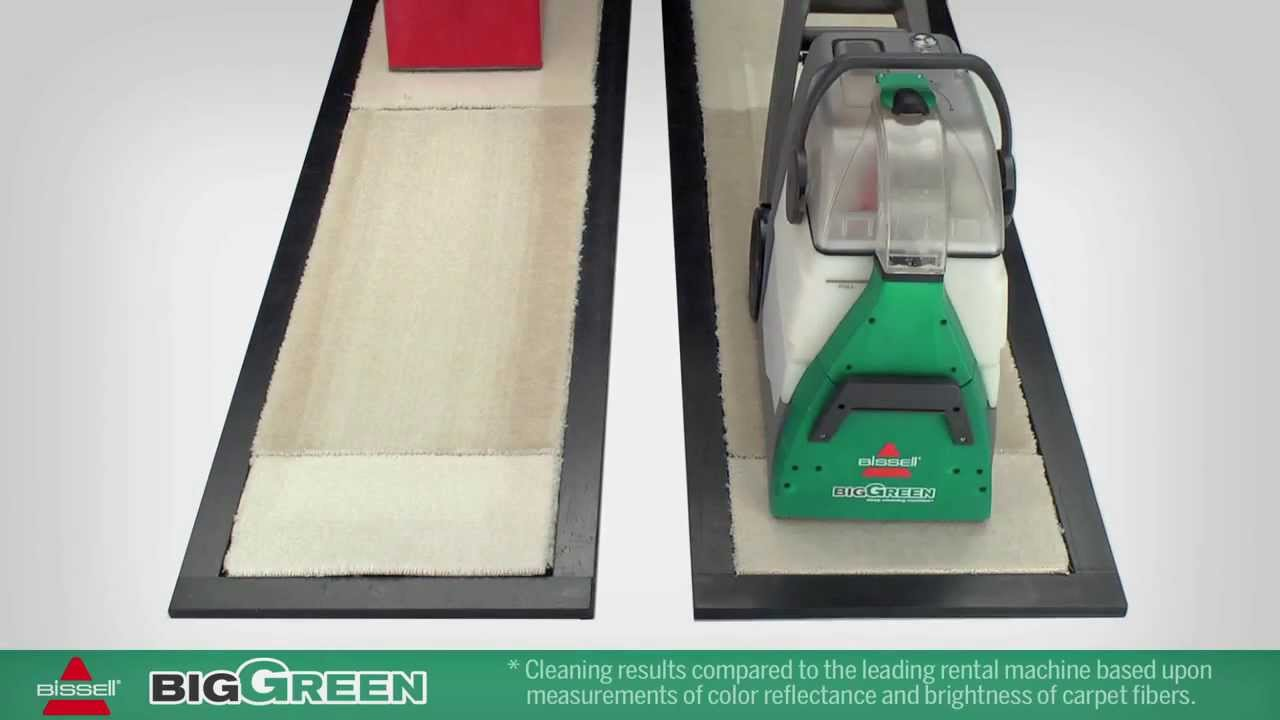 This Vs That Bissell BigGreen Commercial BG10 Extractor   YouTube