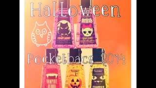 2014 Halloween Treats Pocketbac Collection Review!