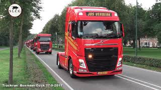 Cuijk Truckrun Boxmeer 17 -9 -2017