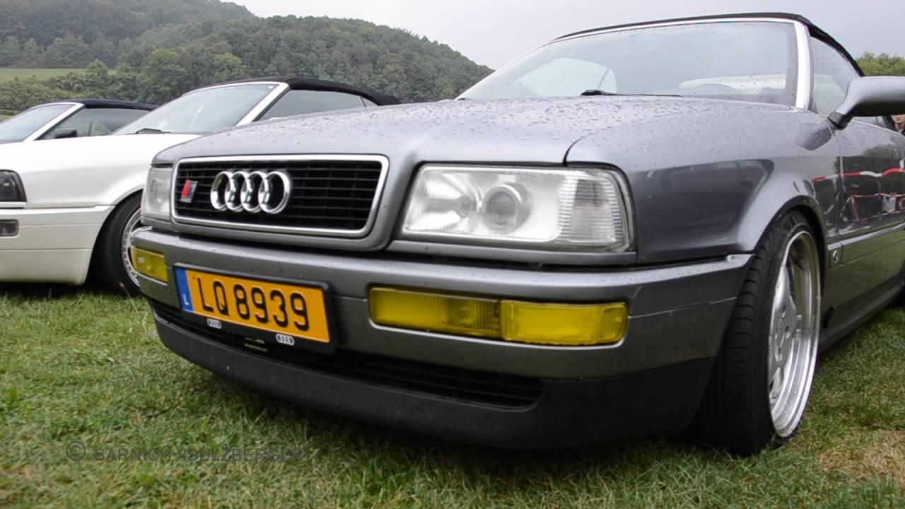 1. deutschland audi cabriolet treffen (t89) hohenroda - youtube