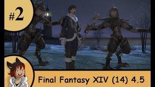 FFXIV Stormblood 4.5 blue mage part 2 - Blue leading the blue