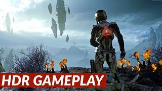 Mass Effect: Andromeda - HDR gameplay [PS4 Pro]