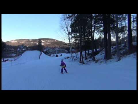 Sunday River trip: skiing by Riley, music by Aldo Nova
