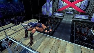 THE FIRST EVER SCAFFOLD MATCH IN A WRESTLING GAME!?!