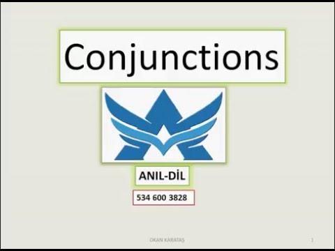 Conjunctions konu yeni