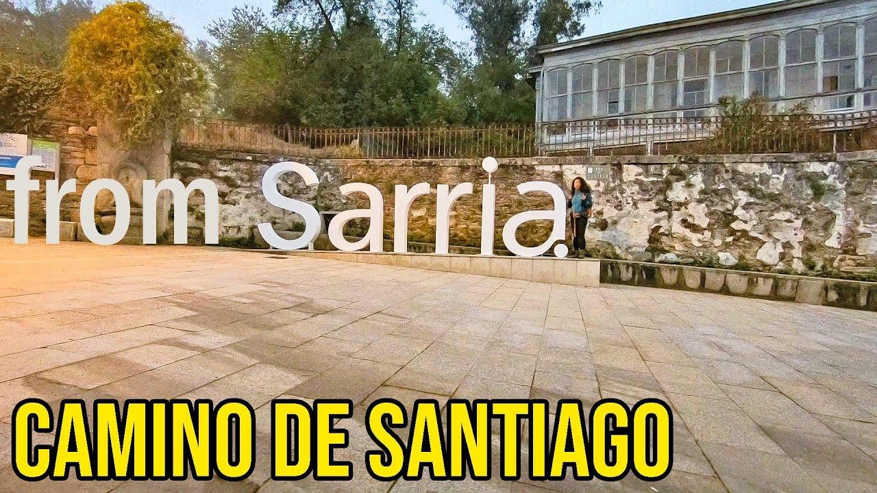 Video Caminetto Per Tv walking the camino de santiago from sarria, the last 100km