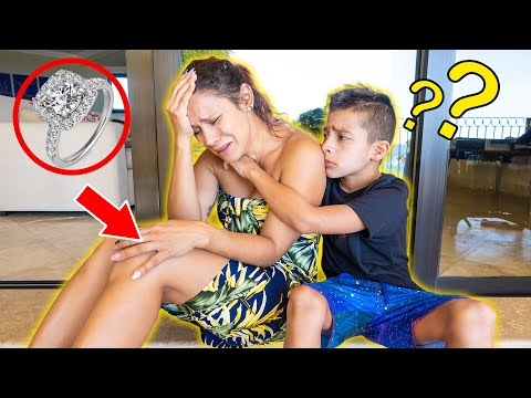 Andrea LOST Her ENGAGEMENT RING On VACATION!! TRIP RUINED... | The Royalty Family