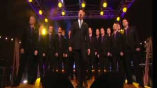 Russell watson and Only Men aloud singing 'Volare'