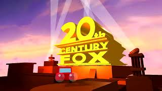 (FUNNY!!) Red Car destroys the 20th Century Fox Logo