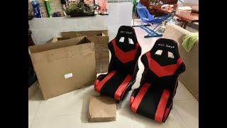 #1 Chuẩn bị bộ ghế để lắp cho xe điện tự chế | Dương Nước Tương Lamborghini |