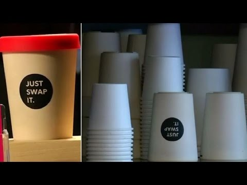 Environment-friendly coffee cups introduced in Berlin