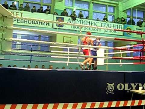 64кг.Николай Колесник(МС) - Максим Игнатьев(МСМК)17.02.2012